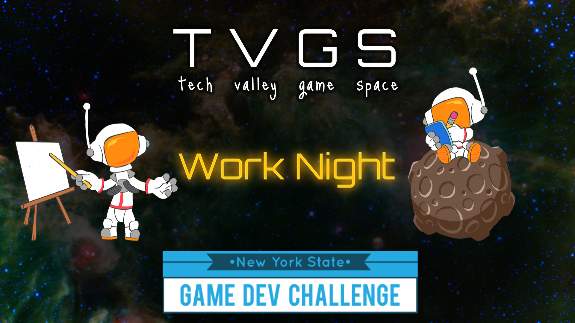 NYS Game Dev Challenge Workshop!
