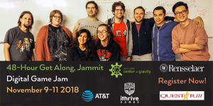 RPI & iThrive Get Along Jammit November 9-11